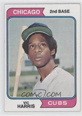 1974 Topps - [Base] #157 - Vic Harris