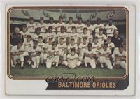 Baltimore Orioles Team [GoodtoVG‑EX]
