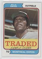 Traded - Willie Davis