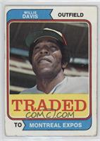 Traded - Willie Davis [Poor to Fair]