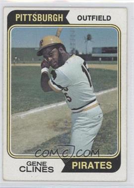 1974 Topps - [Base] #172 - Gene Clines