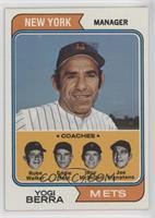 Mets Coaches (Yogi Berra, Rube Walker, Eddie Yost, Roy McMillan, Joe Pignatano)
