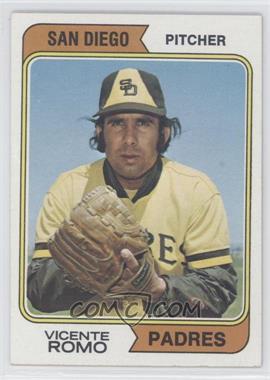 1974 Topps - [Base] #197.1 - Vicente Romo (San Diego) [GoodtoVG‑EX]