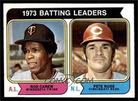1973 Batting Leaders (Rod Carew, Pete Rose) [NMMT]