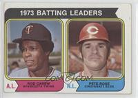 1973 Batting Leaders (Rod Carew, Pete Rose) [Good to VG‑EX]