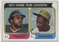 1973 Home Run Leaders (Reggie Jackson, Willie Stargell) [PoortoFair]