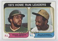 1973 Home Run Leaders (Reggie Jackson, Willie Stargell)