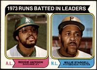 1973 Runs Batted In Leaders (Reggie Jackson, Willie Stargell) [VGEX]