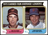 1973 Earned Run Average Leaders (Jim Palmer, Tom Seaver) [NMMT]