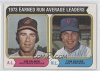 1973 Earned Run Average Leaders (Jim Palmer, Tom Seaver)
