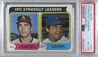 1973 Strikeout Leaders (Nolan Ryan, Tom Seaver) [PSA4VG‑EX]
