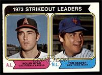 1973 Strikeout Leaders (Nolan Ryan, Tom Seaver) [EX MT]