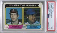 1973 Strikeout Leaders (Nolan Ryan, Tom Seaver) [PSA5EX]