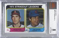 1973 Strikeout Leaders (Nolan Ryan, Tom Seaver) [BVG8NM‑MT]