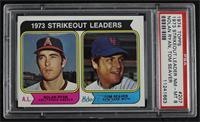 1973 Strikeout Leaders (Nolan Ryan, Tom Seaver) [PSA8NM‑MT]