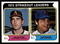 1973 Strikeout Leaders (Nolan Ryan, Tom Seaver) [NM]
