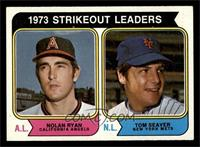 1973 Strikeout Leaders (Nolan Ryan, Tom Seaver) [NM]