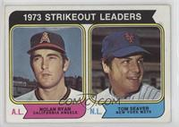 1973 Strikeout Leaders (Nolan Ryan, Tom Seaver) [Good to VG‑EX]