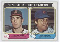 1973 Strikeout Leaders (Nolan Ryan, Tom Seaver)