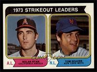 1973 Strikeout Leaders (Nolan Ryan, Tom Seaver) [NMMT]