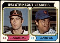 1973 Strikeout Leaders (Nolan Ryan, Tom Seaver) [VG+]