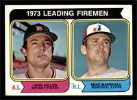 1973 Leading Firemen (John Hiller, Mike Marshall) [GOOD]