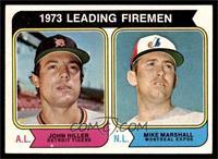 1973 Leading Firemen (John Hiller, Mike Marshall) [NM]