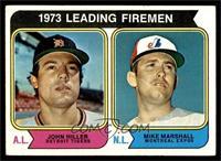 1973 Leading Firemen (John Hiller, Mike Marshall) [VGEX]