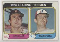 1973 Leading Firemen (John Hiller, Mike Marshall)