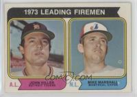 1973 Leading Firemen (John Hiller, Mike Marshall) [PoortoFair]
