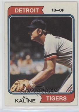 1974 Topps - [Base] #215 - Al Kaline