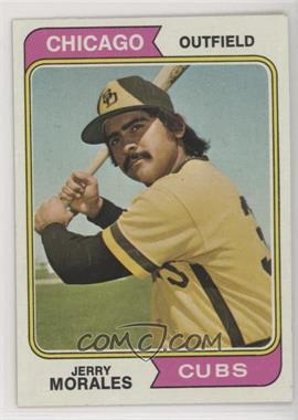 1974 Topps - [Base] #258 - Jerry Morales