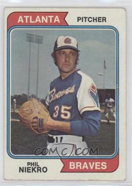 1974 Topps - [Base] #29 - Phil Niekro [PoortoFair]