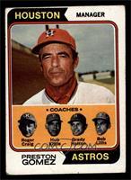 Astros Coaches (Preston Gomez, Roger Craig, Hub Kittle, Grady Hatton, Bob Lilli…