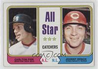 All Star Catchers (Carlton Fisk, Johnny Bench) [Good to VG‑EX]