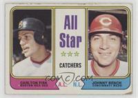 All Star Catchers (Carlton Fisk, Johnny Bench) [GoodtoVG‑EX]