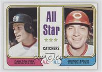 All Star Catchers (Carlton Fisk, Johnny Bench)