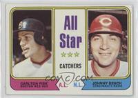 All Star Catchers (Carlton Fisk, Johnny Bench)
