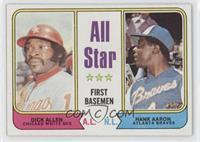 All Star First Basemen (Dick Allen, Hank Aaron)