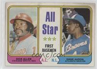 All Star First Basemen (Dick Allen, Hank Aaron) [PoortoFair]