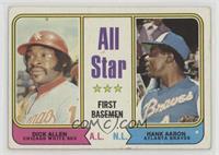 All Star First Basemen (Dick Allen, Hank Aaron) [Poor]