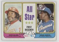 All Star First Basemen (Dick Allen, Hank Aaron) [GoodtoVG‑EX]
