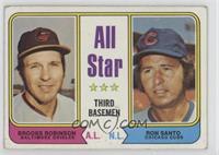 All Star Third Basemen (Brooks Robinson, Ron Santo) [GoodtoVG&#8209…