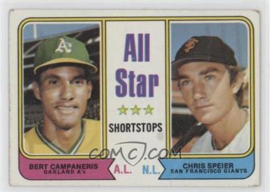 1974 Topps - [Base] #335 - All Star Shortstops (Bert Campaneris, Chris Speier) [PoortoFair]