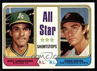 All Star Shortstops (Bert Campaneris, Chris Speier) [EX]