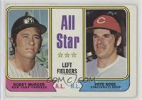 All Star Left Fielders (Bobby Murcer, Pete Rose) [Poor]