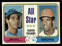 All Star Center Fielders (Amos Otis, Cesar Cedeno) [NM]
