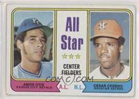 All Star Center Fielders (Amos Otis, Cesar Cedeno) [GoodtoVG‑…