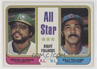 All Star Right Fielders (Reggie Jackson, Billy Williams) [EXtoNM]