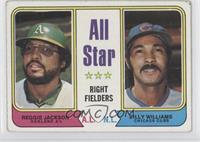 All Star Right Fielders (Reggie Jackson, Billy Williams) [GoodtoVG&…